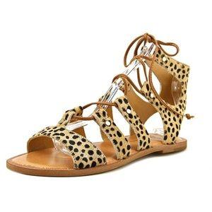 Dolce Vita 'Jasmyn' Lace Up Sandal, 7.5